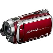 Product Image. Title: DXG Pro Gear DXG-5F0VR Digital Camcorder - 3&quot; - Touchscreen LCD - CMOS - Full HD - Red