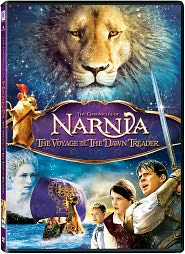 The Chronicles of Narnia: The Voyage of the Dawn Treader starring Ben Barnes: DVD Cover