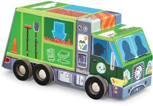 Recycle Truck Spin 'n 48 pc Play Puzzle