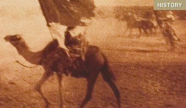 Setting the desert on fire t e lawrence and britains secret war its one of those scenes that show what the movies do supremely well t e lawrence in lawrence of arabia rides a camel through the blindingly gorgeous fandeluxe Choice Image