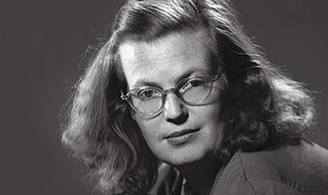 head shot of Shirley Jackson