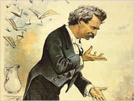 Twain speaking