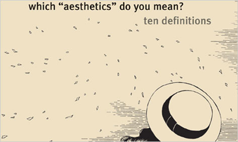 """Which """"Aesthetics"""" Do You Mean?"""