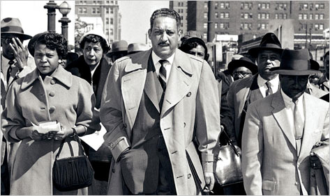 a biography of thurgood marshall a civil rights lawyer in the united states Renowned civil rights advocate and race man thurgood marshall came of age as a lawyer during the black protest marshall joined the united states supreme.