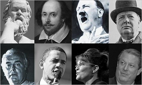 Grandes personalidades de la historia y sus grandes discursos