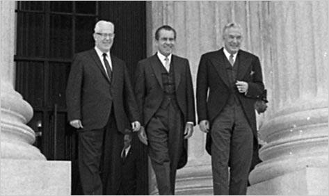 Richard Nixon Victory Sign