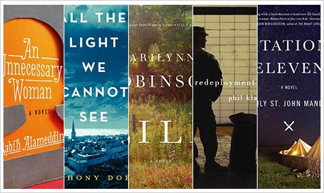 Friction Fiction: The 2014 National Book Award Finalists