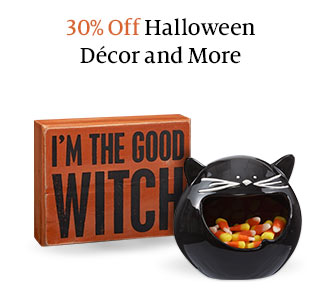 30% Off Halloween Decor and More