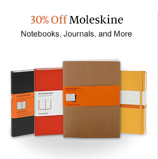 30% Off Moleskine  Notebooks, Journals, and More