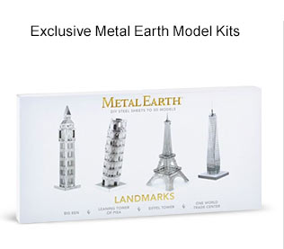 Exclusive Metal Earth Model Kits