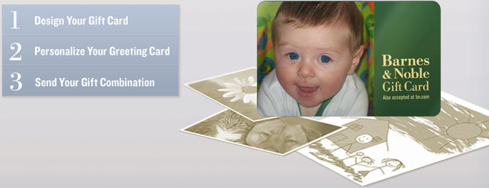 1. Design Your Gift Card - 2. Personalize Your Greeting Card - 3. Send Your Gift Combination