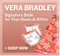 Vera Bradley - Signature Style for Your Home & Office - Shop Now