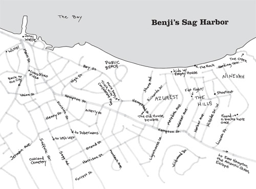 Sag Harbor Map
