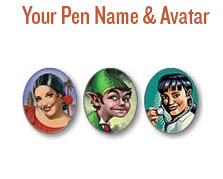 Your Pen Name & Avatar