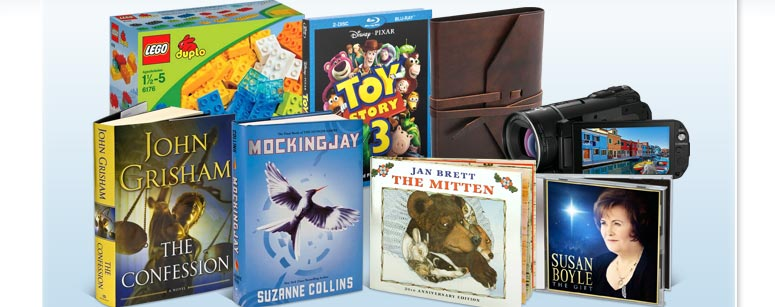 Books – Kids' Books – Toys & Games – DVDs, - Music - Electronics - Home & Gifts - More