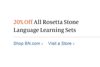 20% Off All Rosetta Stone Language Learning Sets