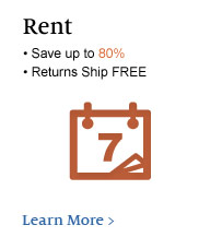 Rent - Save up to 80%; Returns Ship Free. Learn More &gt;