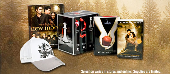 Graphic  Image: Twilight Collection. Selection varies in stores and online.  Supplies are limited.